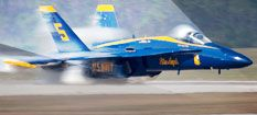 Blue Angels air show - as a kid - every season opener, practices and season end - always with my dad.
