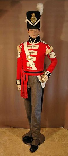 21st (Royal North British Fusiliers Regiment of Foot- Sergeant, Grenadier Company, 1814. 1st Battalion on the American coast from August 1814 to March 1815. Main engagements: Bladensburg, Washington, Goodley Woods, New Orleans, Fort Bowyer.