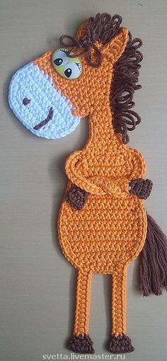 Horse Ge-Ge Bookmark.Pattern for fee.