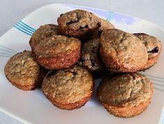 Oatmeal Haskap (Blueberry) Muffins   oldfatguy.ca