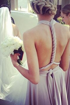 I want to be a bridesmaid one day. Think I was once, but I was so young so it may have as well been a dream. Oh, well :)