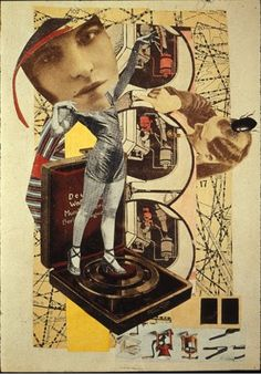 Hannah Hoch. Bought a set off postcards of her work from the Whitechapel gallery last weekend. Brilliant!