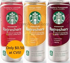 CVS: Starbucks Refreshers Only $0.50! http://becomeacouponqueen.com