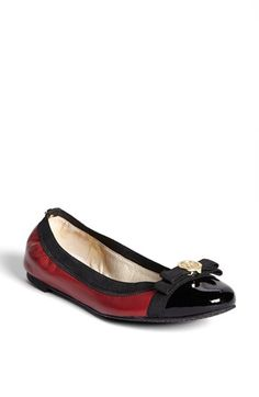 MICHAEL Michael Kors 'Dixie' Ballet Flat available at #Nordstrom