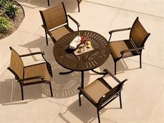 Shop this tropitone sorrento relaxed sling extruded aluminum dining arm chair from our top selling Tropitone dining chairs. PatioLiving is your premier online showroom for patio seating and high-end outdoor furniture.