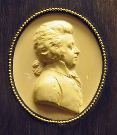 Mozart medallion by L. Posch.  The Original has been lost since WWII.