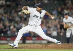 James Pazos Photos Photos - Reliever James Pazos #47 delivers a pitch during the seventh inning of a game against the Detroit Tigers  at Safeco Field on June 19, 2017 in Seattle, Washington. The Mariners won the game 6-2. - Detroit Tigers v Seattle Mariners