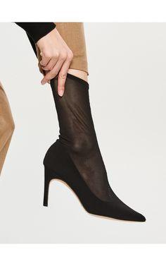 Botine cu partea superioară elastică, Încălţăminte, negru, RESERVED Booty, Adidas, Ankle, Shoes, Fashion, Moda, Swag, Zapatos, Wall Plug