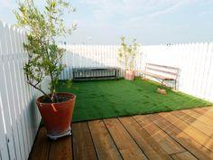 #下馬 #スタジオ の屋上は人工の芝生 を設置できます。芝生の紅葉したスタジオが多いかも知れませんが、これで#春夏の撮影 もスムーズです。