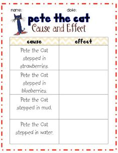 math worksheet : 1000 ideas about cause and effect on pinterest  cause and effect  : Kindergarten Cause And Effect Worksheets