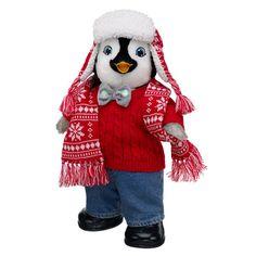 Chillin' Erik stuffed penguin gift - $46.50