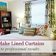 Complete instructions to sew lined curtain panels. Professional result… :: Hometalk
