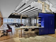 Prodigious office by M Moser Associates at Industry City, Brooklyn – New York » Retail Design Blog