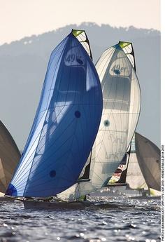 49er regatta, downwind racing