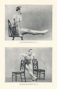 Vintage Exercise Photos - 1930s Workout II