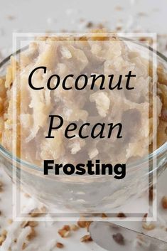 Coconut Pecan Frosting (aka German Chocolate Cake Frosting) is so easy to make! Let me show you the simple secret to making it perfect every time! #coconutpecanfrosting #germanchocolatecakefrosting #MCO German Chocolate Cake Frosting, German Chocolate Cheesecake, Chocolate Cake Mix Recipes, Pear And Almond Cake, Almond Cakes, Coconut Pecan Frosting, Pear Recipes, Delicious Recipes, Yummy Food