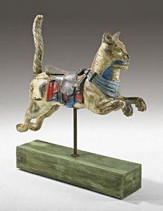 Carousel Cat - © Gustav Dentzel