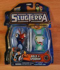 SLUGTERRA Figures Bolo & Spooker Includes 2 Figures & Game Code, New