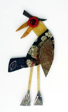 Benjamin Folk Art Bird #18