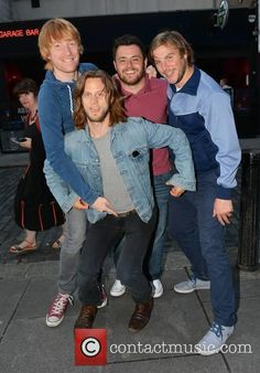 Domhnall Gleeson, Laurence Kinlan, Peter Coonan and Tighe Murphy