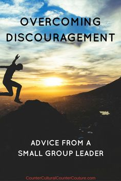 Post on overcoming discouragement by Hannah Tan, of TanSquared Youth Ministries.