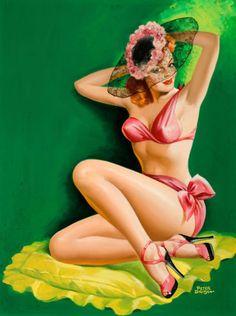 Art by Peter Driben 1949