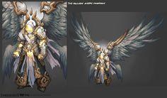 Darksiders II NPCs (Archon) by CorruptedDeath.deviantart.com on @deviantART