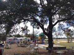 Midway Food Park Seating Area- must try!! Big play area, plenty of food choices and decent restrooms!
