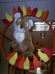 klasaankleding Cute Classroom Decorations, Circus Theme Classroom, Preschool Classroom Decor, Circus Decorations, Classroom Design, Circus Crafts, Circus Art, School Themes, School Fun