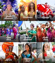 Cultural Groups Hollywood Carnival 2016 #hollywoodcarnival