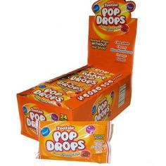 Tootsie Pop Drops - 1 pack Tootsie Pops, Frosted Flakes, Packing, Treats, Candy, Drop, Bag Packaging, Sweet Like Candy, Pallets