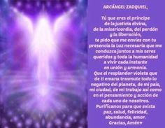 arcangel zadquiel oraciones - Buscar con Google