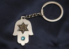 Hamsah keychain - star of David #rilsar