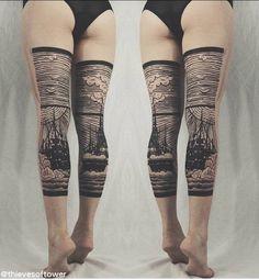 tableau de jambes