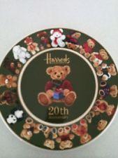 HARRODS 20th Anniversary 20 Bears PLATE New bear 2005 Christmas fine bone china