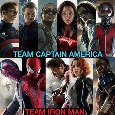 Team Captain vs Team Iron