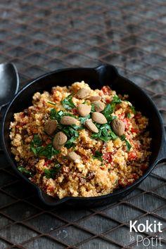 Kokit ja Potit -ruokablogi: Paistettu kukkakaaliriisi