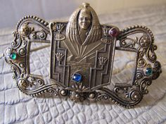Egyptian Revival ART DECO Era Brass Metal & by MaisonettedeMadness