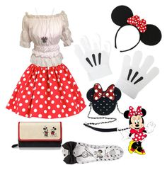 """Minnie"" by marialuisa-iannone on Polyvore featuring bellezza, Disney, Loungefly, Torrid, The Bradford Exchange e Melissa"