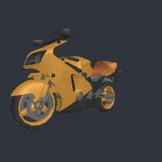 3D model Motto.3ds - Transportation device Motorcycle model, (.3ds) 3D Studio software, Transportation Objects, by unknown  - 5795 vertices - 6662 polygons  See it in 3D: https://www.yobi3d.com/v/oto35KCNec/Motto.3ds