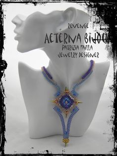 Beading tutorials and patterns Revenge beadwork bead