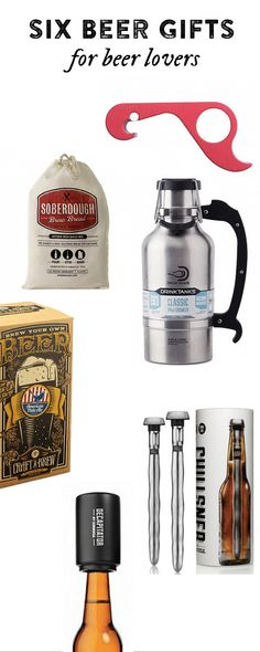 6 Must-Haves for Beer Lovers - Beer Gifts from The Grommet