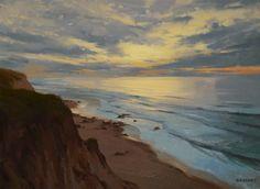 Winter Sunset  Oil on Canvas  18 x 24