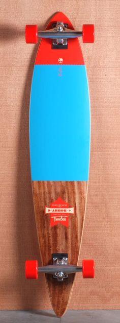 Arbor 46 Timeless Pin Koa Longboard Complete