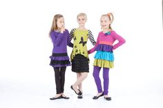 funky, limeapple, pink, purple, green, lime, colorful, happy, girls, cute Happy Girls, Pink Purple, Activewear, Lime, Colorful, Green, Style, Fashion, Swag