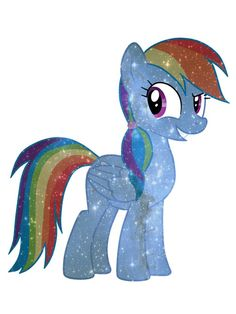 Galaxy Rainbow Dash