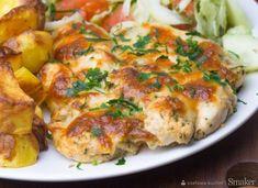 Mozzarella, Quiche, Potato Salad, Potatoes, Chicken, Meat, Breakfast, Ethnic Recipes, Food