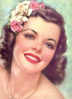 pin-up Pin Up Vintage, Vintage Girls, Vintage Beauty, Vintage Pink, Vintage Art, Vintage Fashion, Vintage Clothing, Posters Vintage, Vintage Postcards