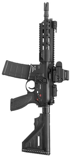 The HK337 is a mid-range weapon based on the HK416A5 with the high-performance caliber .300 Blackout / Whisper.