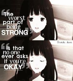 Hyouka Okay everyone I see an inspirational saying I'm about to cry of happiness sadness or just whatever